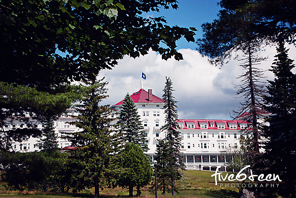 """The Mount Washington Hotel in Bretton Woods, NH"